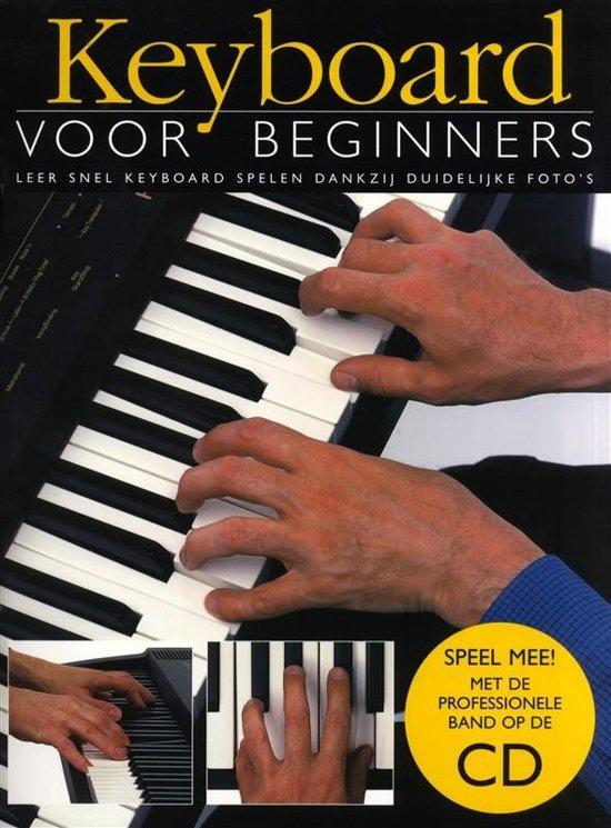 Boek cover Keyboard lesboek voor Beginners (Boek/Cd) van Jeff Hammer (Paperback)