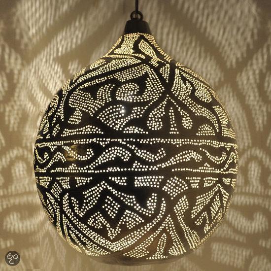Nour Lifestyle Arabische hanglamp Haifa met Oosters patroon - maat L