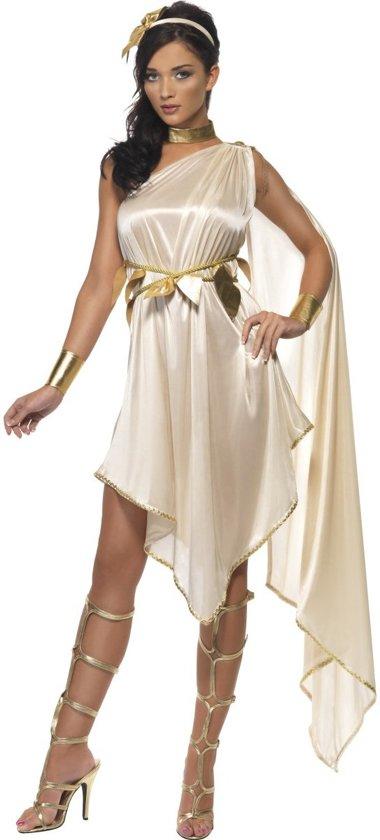 3a8990356d424b Godinnen jurk - Romeinse of Griekse godin kostuum dames maat 36-38