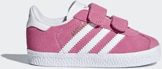 premium selection 9f162 b3663 adidas Gazelle CF I Sneakers Kinderen - Semi Solar PinkFtwr WhiteSemi  Solar