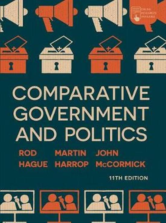 Boek cover Comparative Government and Politics van John Mccormick (Paperback)