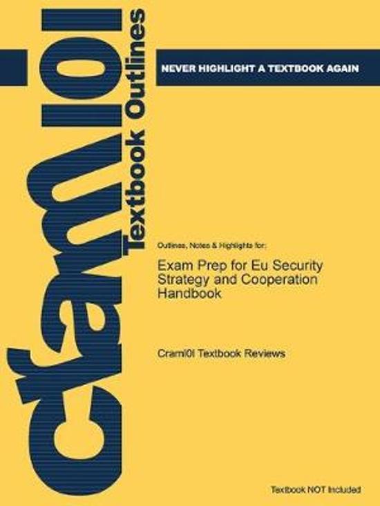 Exam Prep for Eu Security Strategy and Cooperation Handbook