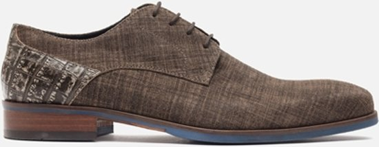 Signatura Chaussure De Dentelle Taupe - Hommes - Taille 46 9JXO5