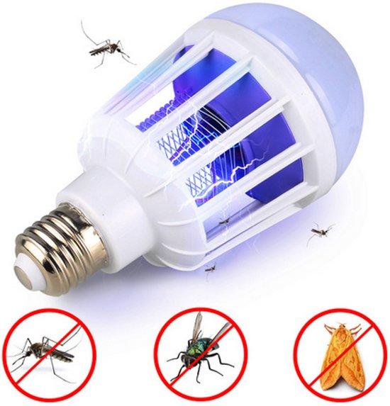 Anti muggenlamp LED muggen zapper 1000 lumen 15W E27 fitting / HaverCo