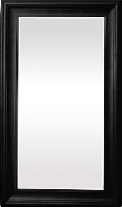 Qweens - Spiegel - Marieke- zwart - buitenmaten breed 84 cm x hoog 184 cm.