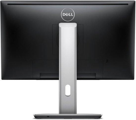 DELL UltraSharp U2417HJ 23.8'' Full HD LED Flat Zwart, Zilver computer monitor