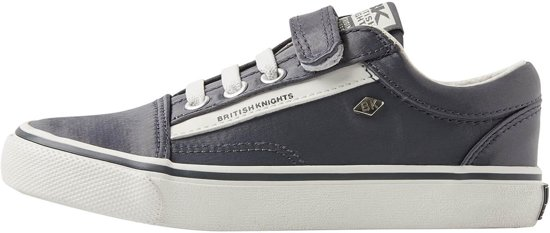 24e566dbe45 British Knights MACK Meisjes sneakers laag - Donker grijs - maat 35