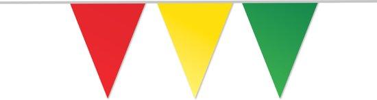 5x Vlaggenlijn Rood / Geel / Groen (10M)