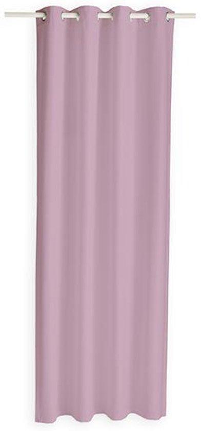 today kant en klaar gordijn oud roze 140 x 260cm