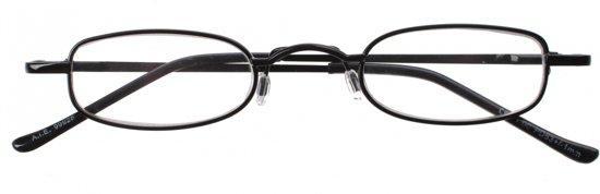 7a04f59306e189 Dunlop Leesbril Zwart Unisex Sterkte +1.50