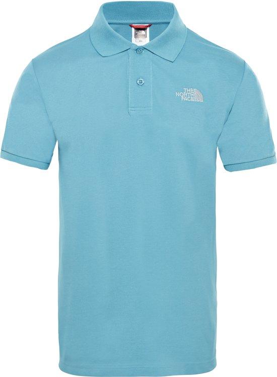 Polo Face The North Piquet Blue Shirt Eu HerenStorm mwn08vNO