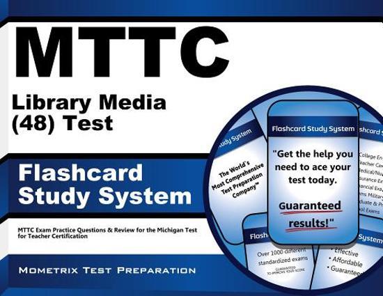 Afbeelding van het spel Mttc Library Media 48 Test Flashcard Study System