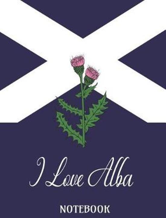 I Love Alba - Notebook
