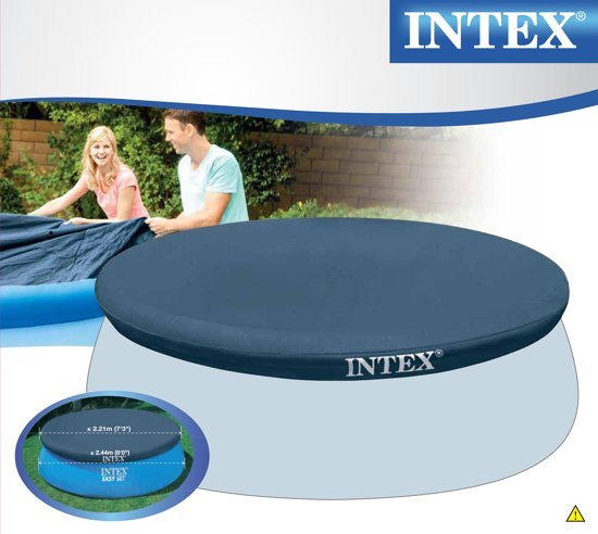 Intex Easy Set Zwembad Afdekzeil 244 cm