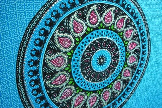 Luxe sarong hamamdoek kleuren blauw zwart wit paars groen  met pailletten 165 cm bij 115 cm uit Bali versierd met franjes