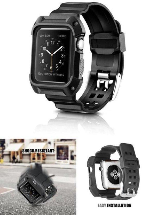 Case & Armband Voor De Apple Watch Series 1/2/3 - 42mm