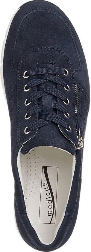 Donkerblauwe Sierrits Maat 37 Sneaker Dames Medicus Suède 5 56wgqpn7n