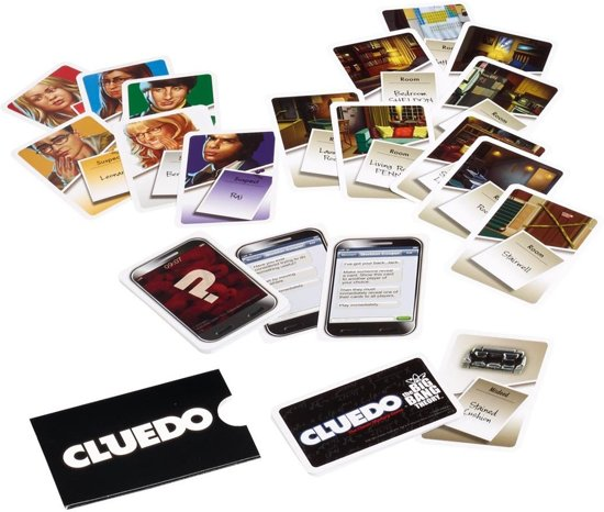 Cluedo Big Bang Theory - Bordspel