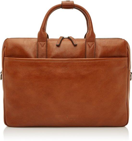 8851dd2e9fb bol.com | Castelijn & Beerens Nova laptoptas 15,6'' licht bruin + ...