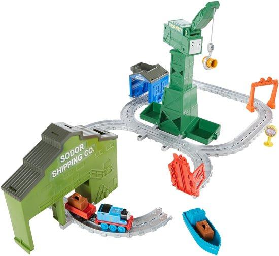 bol.com | Thomas de Trein Adventures Cranky In De Haven - Treinbaan ...