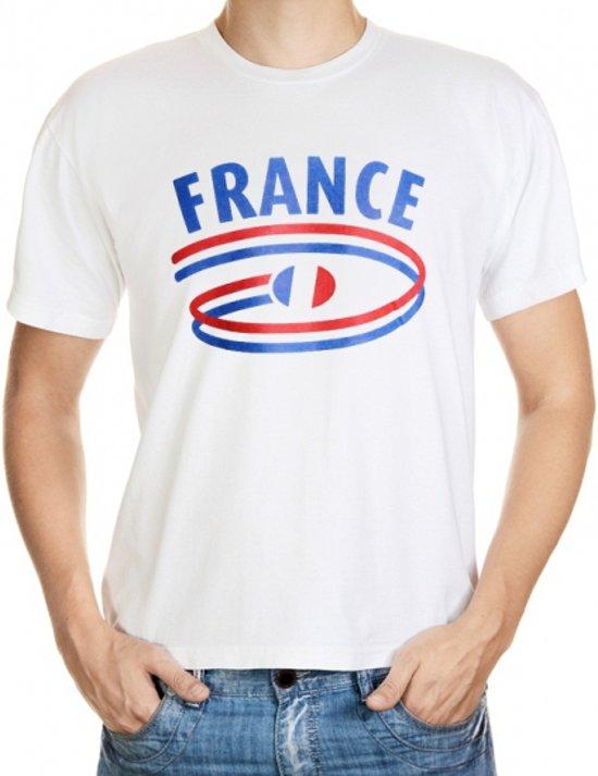 France t-shirt voor heren Xl