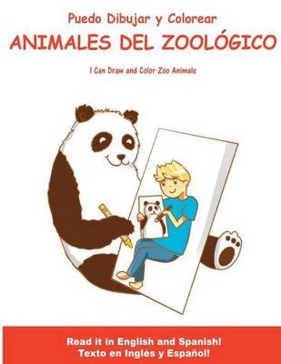 bol.com | Puedo Dibujar y Colorear Animales del Zoologico, Scott H ...