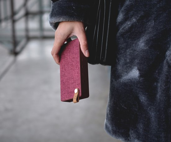 Fresh n Rebel Rockbox Slice Fabriq Edition Rood