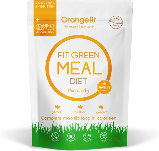 Fit Green Meal Diet Vanille