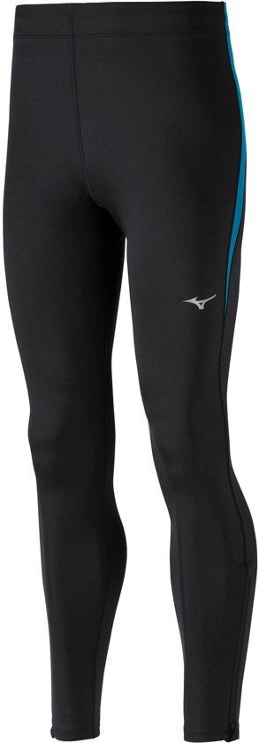 Mizuno Impulse Core Sportbroek - Maat S  - Mannen - zwart/ blauw