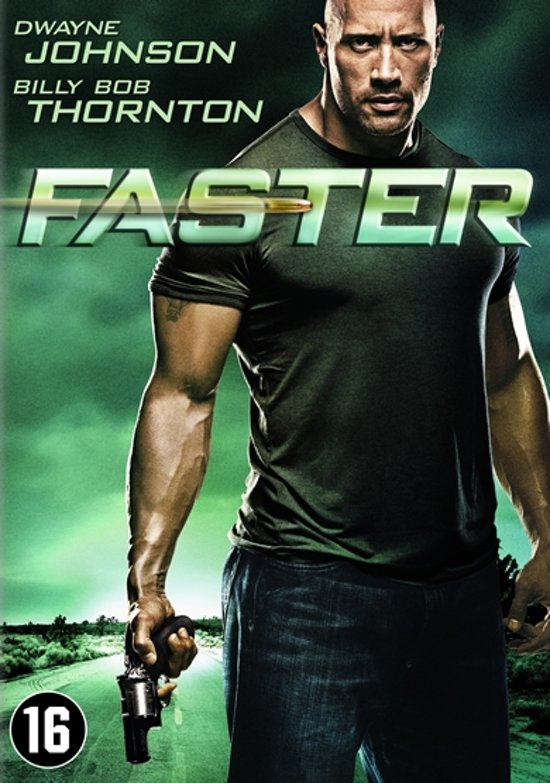 Cover van de film 'Faster'