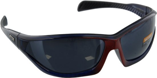 c9686549d1dba7 Zonnebril heren rood zwart - UV400 - Vaccari