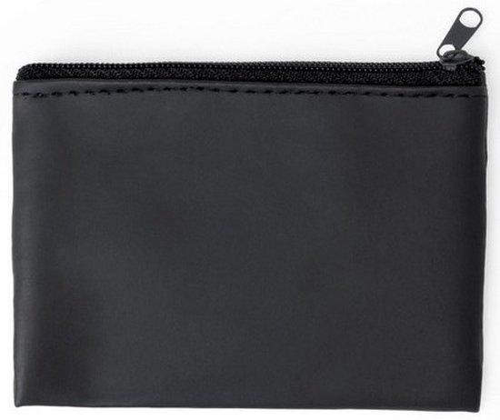 Portemonnee zwart microfiber met auto sleutelhanger auto accessoires