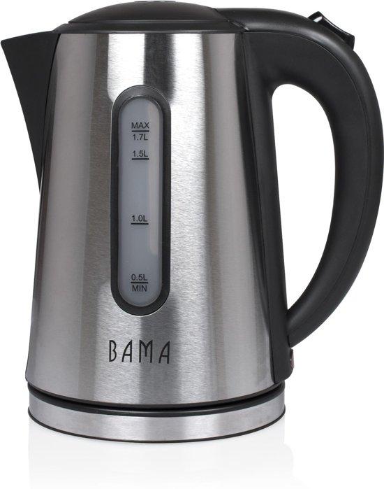 Bama Waterkoker BMWK2013 RVS -1,7 Liter