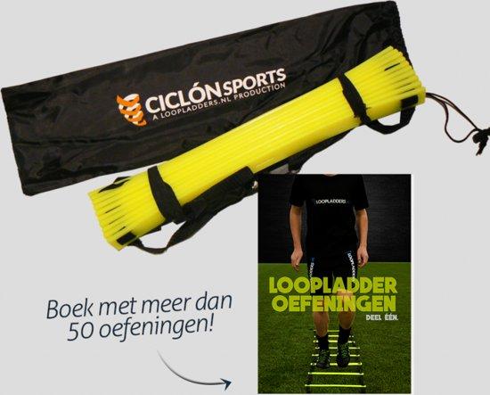 Loopladder - speedladder - 6 meter + oefeningen boek