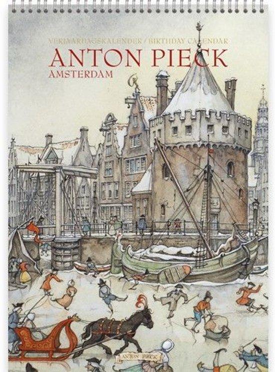 Verjaardagskalender Anton Pieck 'Amsterdam;' A4