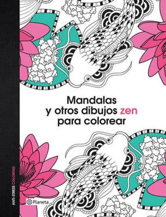 bol.com   Mandalas y Otros Dibujos Zen Para Colorear, Vv Aa ...