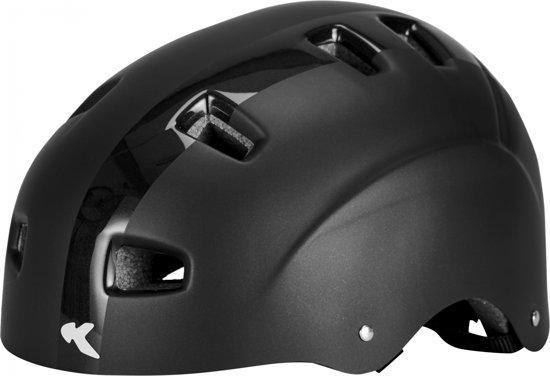 KED fietshelm: Risco M Black Matt, Maat: 54-58 cm