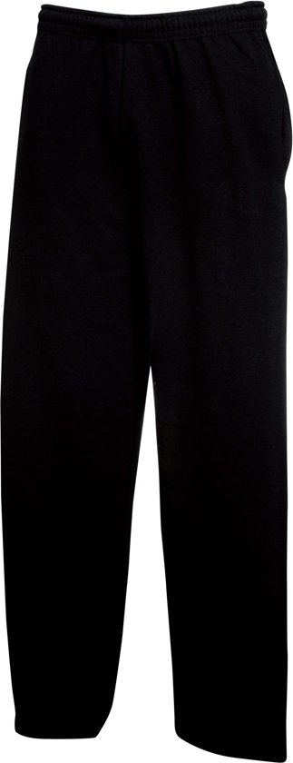 Fruit of the Loom Joggingbroek (met rechte Pijp) Zwart Maat L