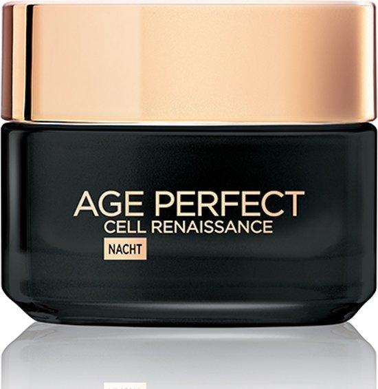 L'Oréal Paris Age Perfect Cell Renaissance Nachtcrème - 50 ml - Anti Rimpel