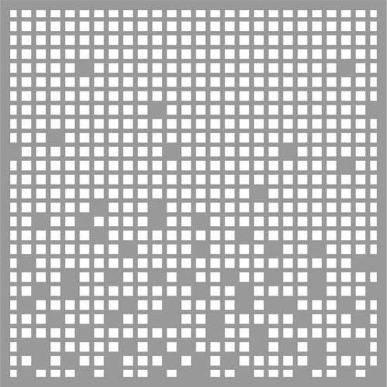 Pronty Mask stencil Squares 150x150 milimeter 470.801.046 150x150mm