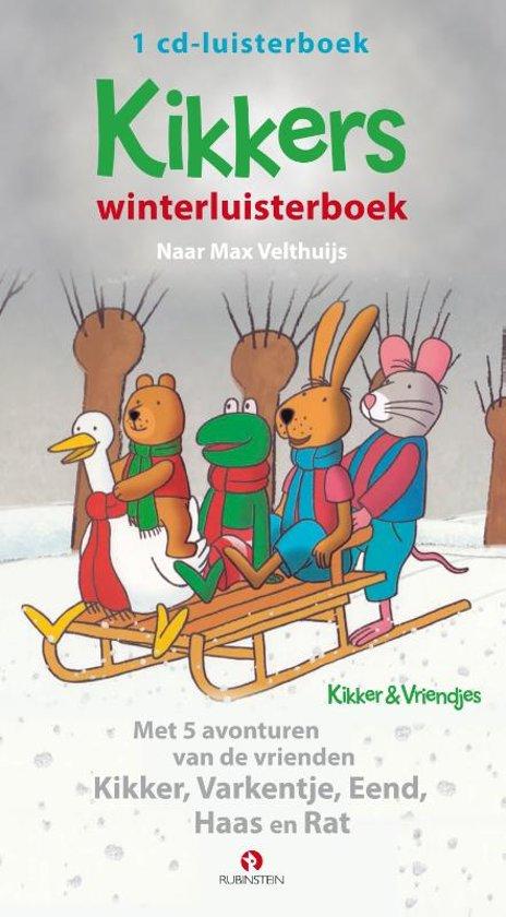 Boek cover Kikkers winterluisterboek van Max Velthuijs (Onbekend)