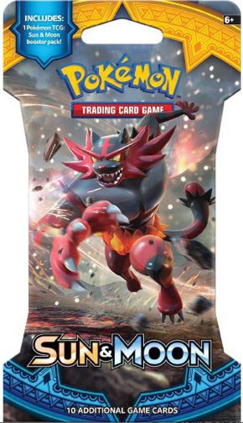 Thumbnail van een extra afbeelding van het spel Pokémon Sun & Moon Sleeved Boosterpack - Pokémon Kaarten
