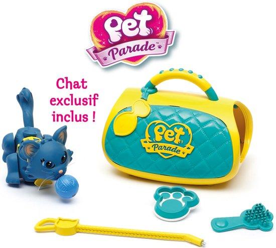 Pet Parade - Katten - Verzorgingskoffer speelset - met exclusieve kat
