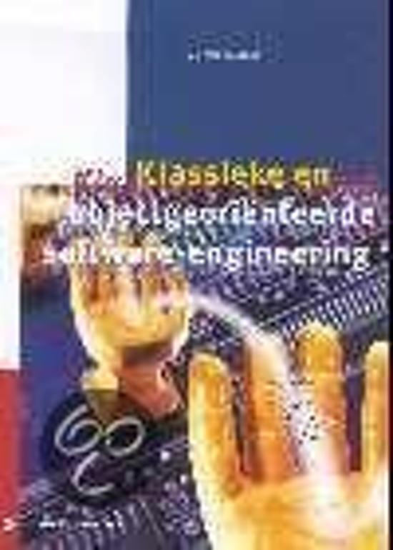Cover van het boek 'Klassieke en objectgeorienteerde software-engineering / druk 1' van Stephen R. Schach