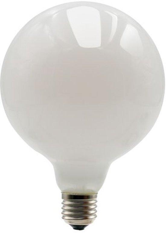 LED Lamp G125 6W Frosted 2700K Dimbaar