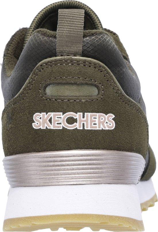 Skechers Retros Og 85 Goldn Gurl Dames Sneakers Olive Maat 36
