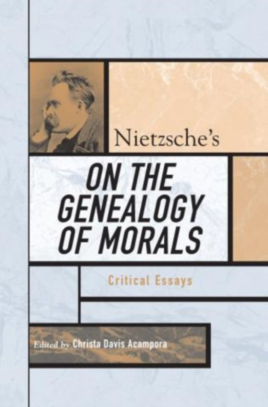 nietzsche on the genealogy of morals 2nd essay
