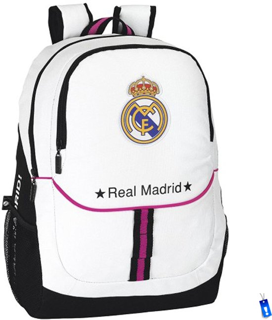 2d12d53a4fc bol.com | Real Madrid - Rugzak - wit/Zwart