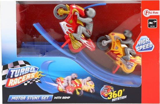 Toi-toys Turbo Racers Motor Stunt-set 27 Cm