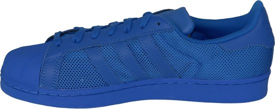 Blue Superstar Sneakers Maat Eu Mannen 46 B42619 Adidas Blauw 5gx44n